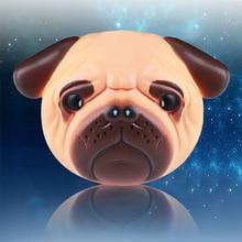Kawaii Squishy Dog Face Bread 아이스크림 소프트 느린 상승 펜던트 핸드폰 줄 스트레치 스퀴즈 크림 향기로운 케이크 아이 장난감 GHMY