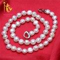 [Nymph] barroco collar de perlas de joyería de perlas naturales de agua dulce perla collar de gargantilla de moda para las mujeres [x2005]