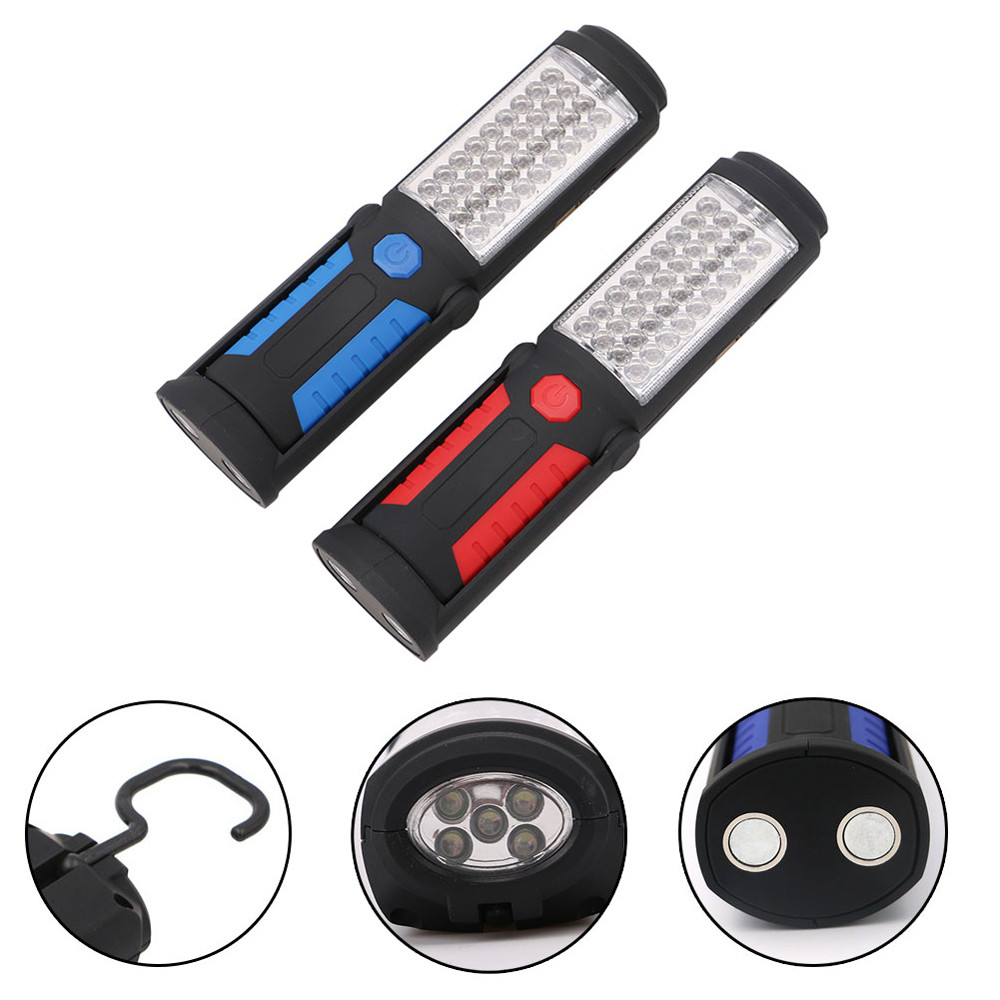 Bicycle Accessories Bike Flashlight Headlamp USB Rechargeable 36+5LED Light Magnetic Emergency Flashlight Torch
