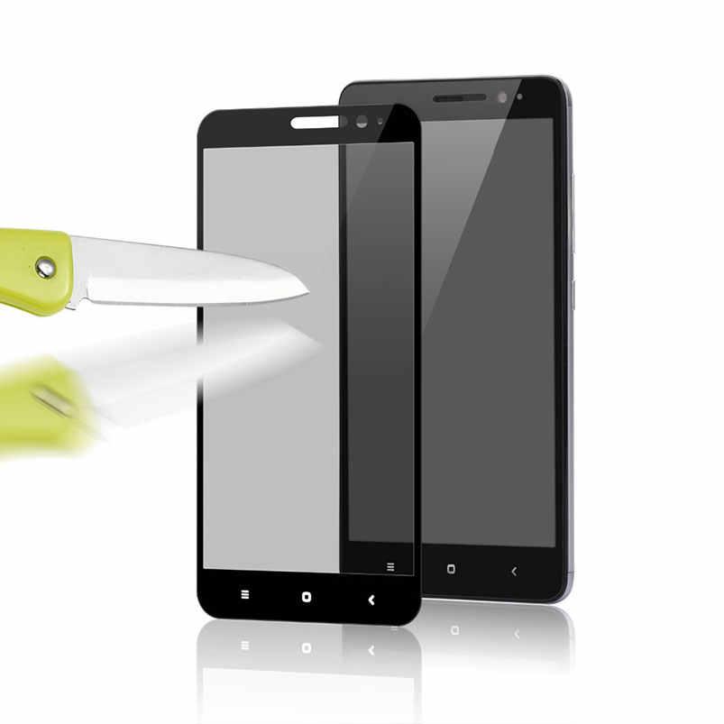 9 H كامل غطاء الزجاج المقسى ل Xiaomi Redmi 5A 4A Redmi 5 زائد Redmi 4X5 Redmi ملاحظة 4 6 واقي للشاشة تشديد فيلم حالة