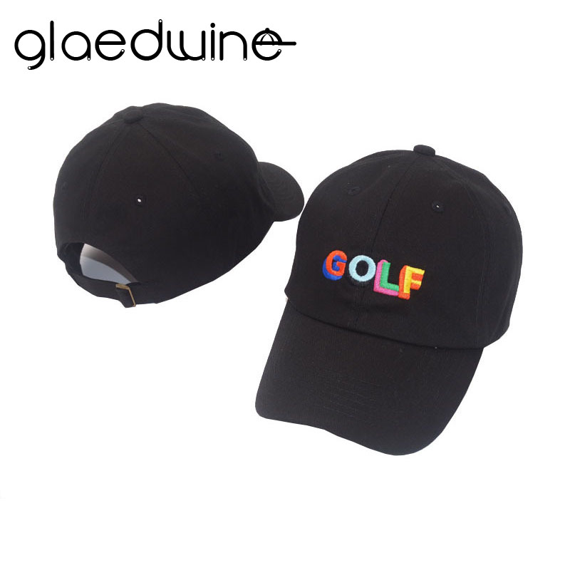 Glaedwine 2018 Dad Hat Golf Tyler The Creator Snapback Casquette Bone Gorras Zwart Tactical Baseballcap Dad Hat Sun Hat For Men