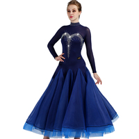 Custom color ballroom dance competition dresses woman kids standard ballroom dress waltz dress ballroom dance dresses woman girl