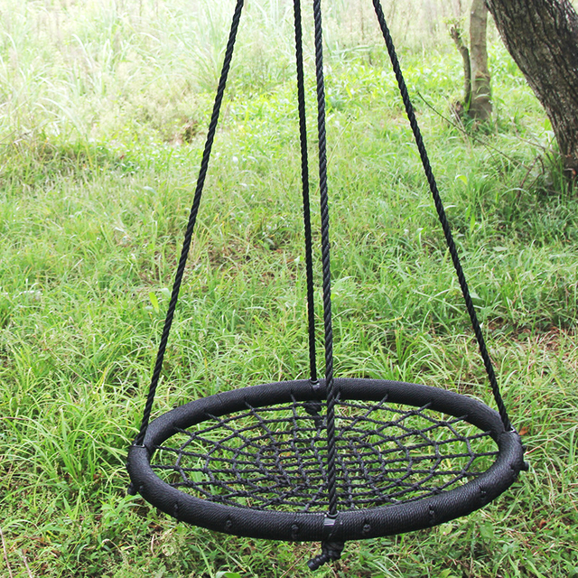 hanging chair tree wall hugger recliner canada swing nylon rope iron pipe hammock baby rocking seat patio outdoor garden children furniture