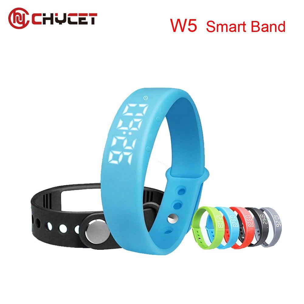 Chycet Smart Wristband W5 Smart Bracelet Pedometer Sleep Tracker Thermometer Smart band Fitness Tracker Smart watch