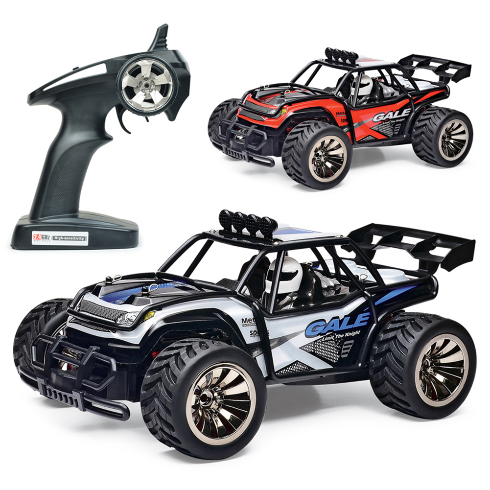 Adultes antichoc anti-dérapant anniversaire hors route enfants camion course jouet cadeau voiture RC sans fil passe-temps haute vitesse USB Rechargeable - 2