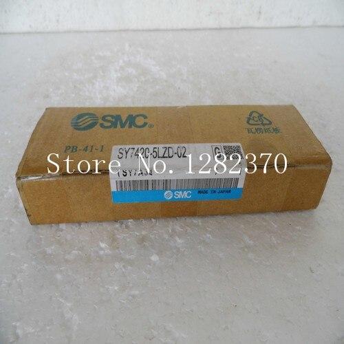 [SA] New original authentic special sales SMC solenoid valve SY7420-5LZD-02 spot --2PCS/LOT [sa] new original authentic special sales smc solenoid valve vqz3121 5yz1 c8 spot