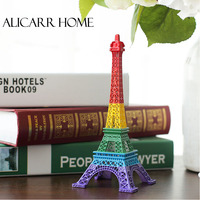 The new model of the Eiffel Tower Eiffel Tower Paris rainbow color decoration decoration gift Home Furnishing