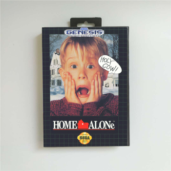 Home Alone USA Cover 16 Bit MD Game Card For Sega MegaDrive Genesis Game Console Cartridge