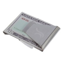 Big Sale Stainless Steel Slim Money Clips Portable Bill Holder Card Clip Holder Slim Wallet Metal Clips clip billetera