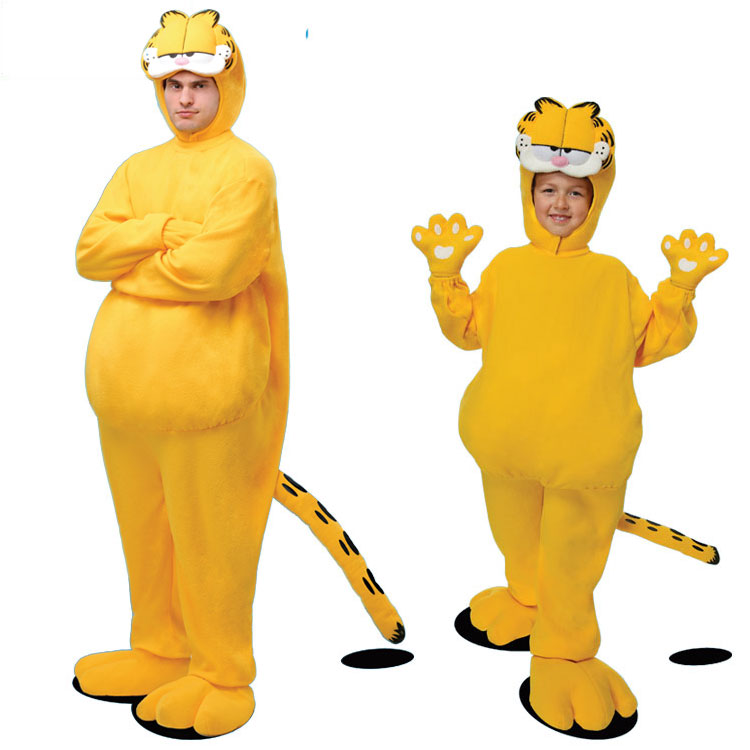 Irek Hot Halloween costume party movie cosplay costume adult children toddler Garfield  cosplay costume-in Holidays Costumes from Novelty & Special Use    1