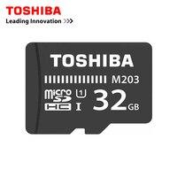 Toshiba 100 м/с слот для карт памяти Micro SD карта, 32 ГБ, Class10 UHS-1 SDHC карты флэш-карты памяти Microsd для смартфонов/Таблица 90 м/с