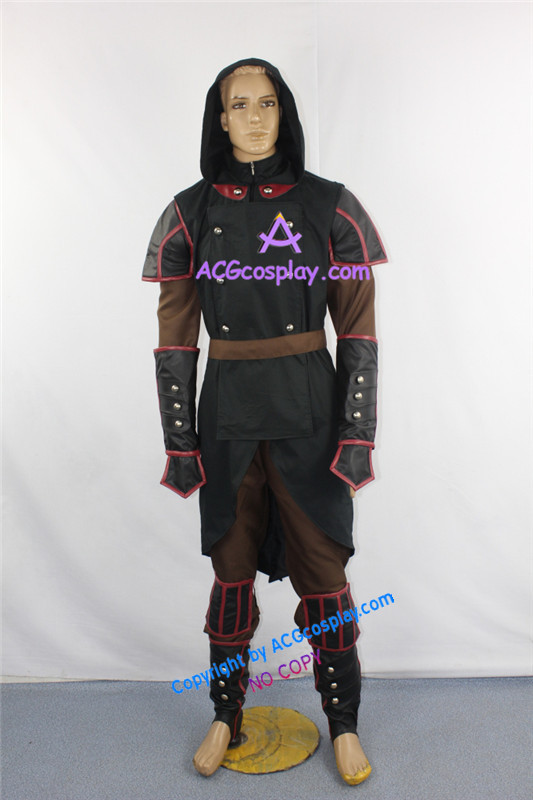 Avatar la légende de Korra Amon Costume de Cosplay