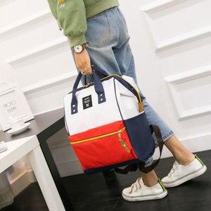 Image 5 - FANSON 女性バックパックカジュアル最高の旅行バッグ日本リングスクールバッグファッションショルダーバッグ十代の少女リュックサック Mochila Bagpack