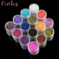 Nail Powder Professional 45 PC Color Glitter Acrylic Powder Dust Nail Art Tips Decoration For Women