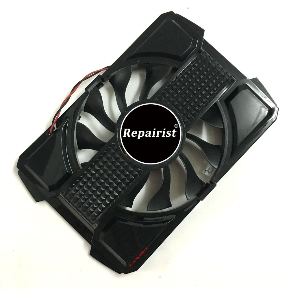 RX550 GPU Cooler VGA Graphics Card <font><b>Fan</b></font> For ASUS RX 550 <font><b>GT630</b></font>-2GD3 Video Cards Cooling As Replacement image