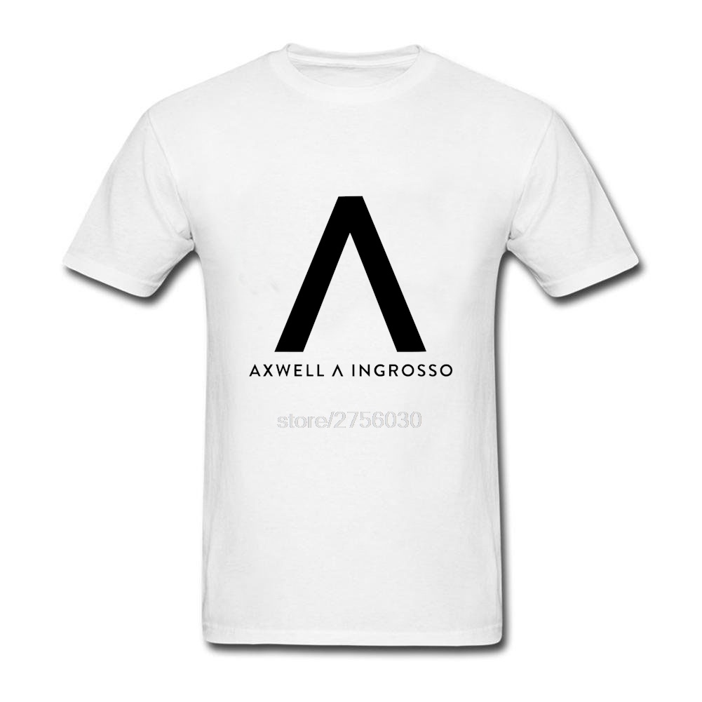 Axwell Ingrosso T Shirt Men Plus Size Short Sleeve 100% Cotton O Neck Top Clothing Axwell Ingrosso Men T Shirt