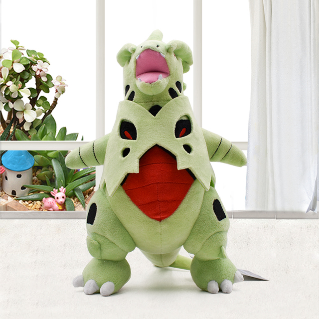 14 poke tyranitar cute anime plush toy soft pp cotton stuffed animal doll christmas gifts
