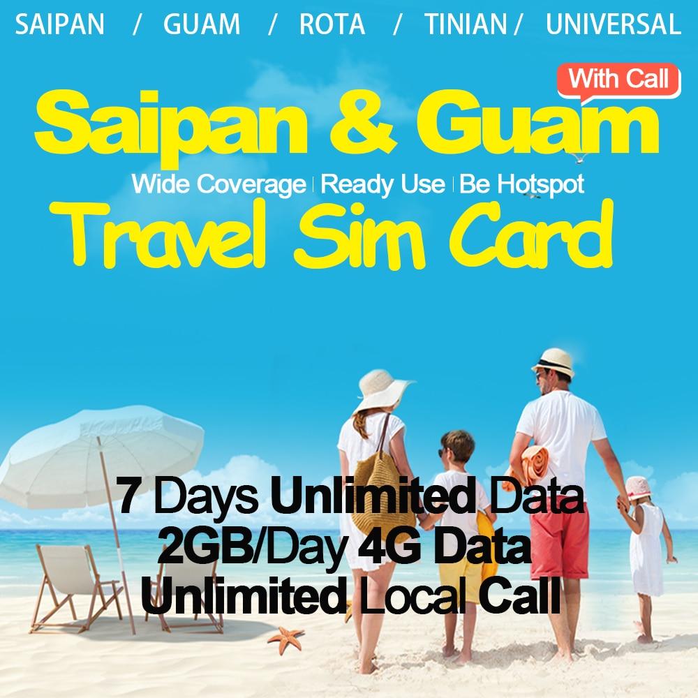 Mewfi Saipan Guam Prepaid Travel Sim Card 7 Days Unlimited Data Card+Local Call 2GB/Day 4G Data IT&E Sim Card For Rota TinianMewfi Saipan Guam Prepaid Travel Sim Card 7 Days Unlimited Data Card+Local Call 2GB/Day 4G Data IT&E Sim Card For Rota Tinian