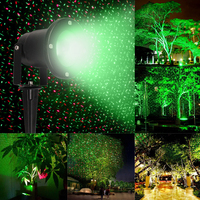 Waterproof Outdoor Landscape Garden Romate Laser Projector Light Xmas Stage Light Lawn Decoration Lamps FEN