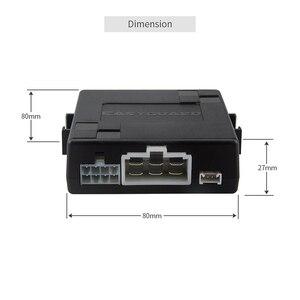 Image 4 - EASYGUARD Silver Start Stop Engine Button Remote Engine Start Optional Keyless Go System with Transponder es002 p3 DC 12V