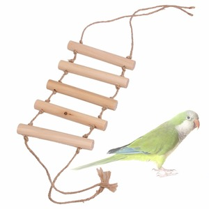 Wooden Small Parrot Toys Bridg