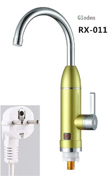 RX-011G,Digital Display Instant Hot Water Tap,Fast electric heating water tap,Inetant Electric Heating Water Faucet