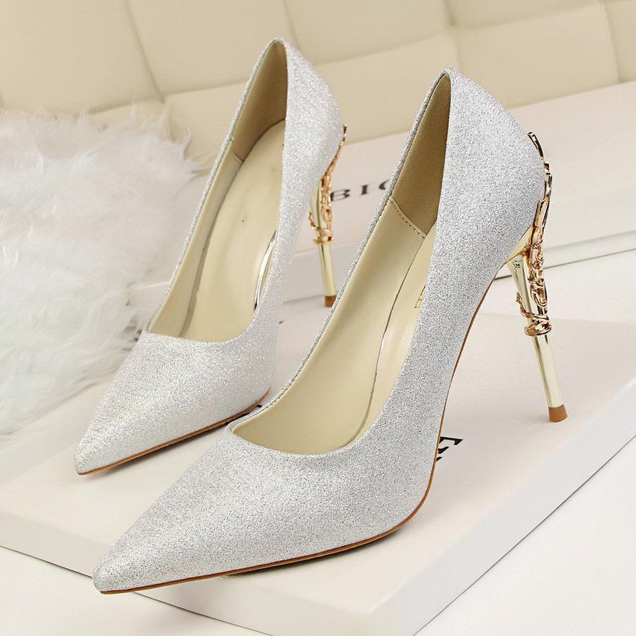 high heels silver (3)