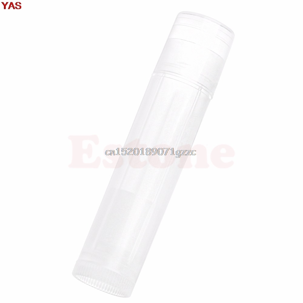 1PC Empty Clear LIP BALM Tubes Containers Transparent Lipstick #H027#