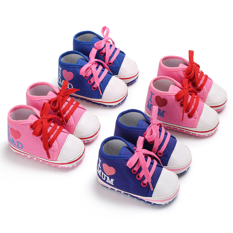 Spring And Autumn 0-1 Years Old Men And Women Baby Casual Canvas Shoes Baby Toddler Shoes