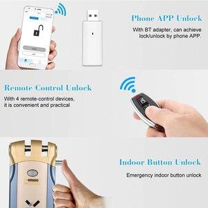 Image 2 - WAFU 018U Pro รีโมทคอนโทรลไร้สายล็อคที่มองไม่เห็น Keyless ล็อคอัจฉริยะสมาร์ทประตูล็อค iOS Android APP ปลดล็อค