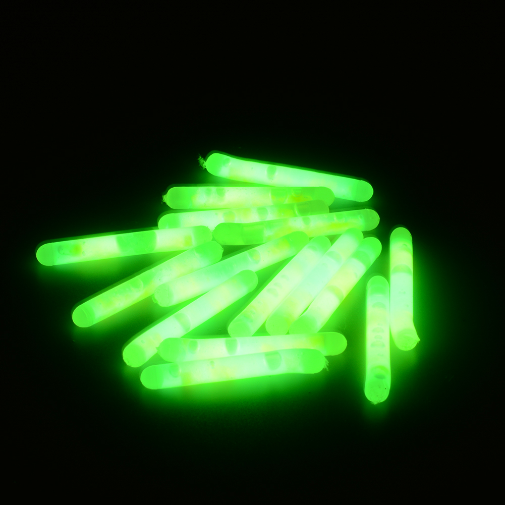 15X 4 5x36mm Fishing Fluorescent Lightstick Light Night Float Rod Lights Dark Glow Stick Useful Lots