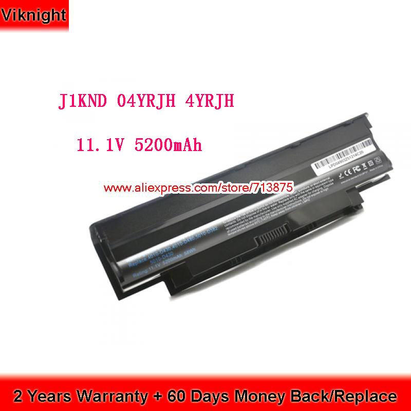 High Quality 04YRJH J1KND J4XDH 07XFJJ 11.1V 48Wh Battery For Dell Inspiron N5110 N4110 N4050 N7110 N5010 N4010 13R 14R 15R 17RHigh Quality 04YRJH J1KND J4XDH 07XFJJ 11.1V 48Wh Battery For Dell Inspiron N5110 N4110 N4050 N7110 N5010 N4010 13R 14R 15R 17R