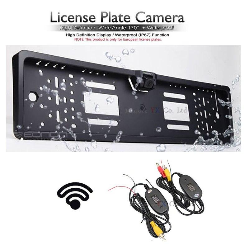 ᗔReceptor transmisor inalámbrico para coche de estacionamiento ...