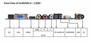 "Image 3 - TV + HDMI + VGA + AV + USB + 오디오 TV LCD 드라이버 보드 19.5 ""M195FGE L20 LM195WD1 TLC1 M195RTN01 1600*900 LCD 컨트롤러 보드 DIY 키트"