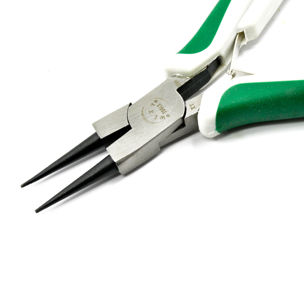 Urijk New Jewellery Making Tools Beading Pliers Round Flat Wire Side Cutters Kit Set SES