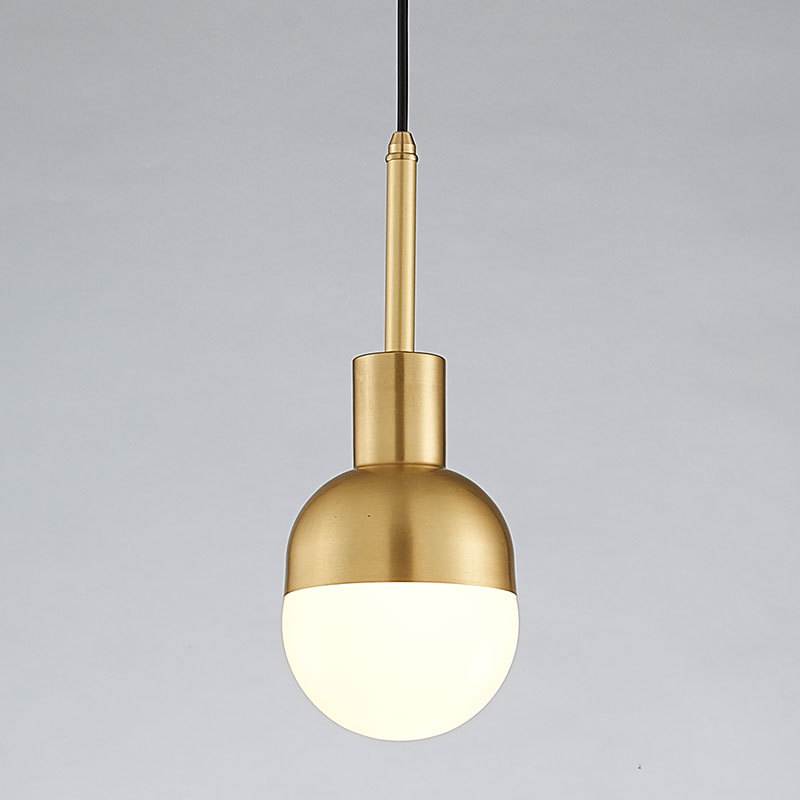 Northern Denmark gold glass ball droplight loft industrial postmodern contracted brassy bedroom pendant lightNorthern Denmark gold glass ball droplight loft industrial postmodern contracted brassy bedroom pendant light