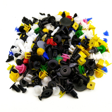 100pcs Universal Mixed Clips For Peugeot 307 308 407 206 207 3008 406 208 2008 508 408 306 301 106 107 607 4008 5008 807 205