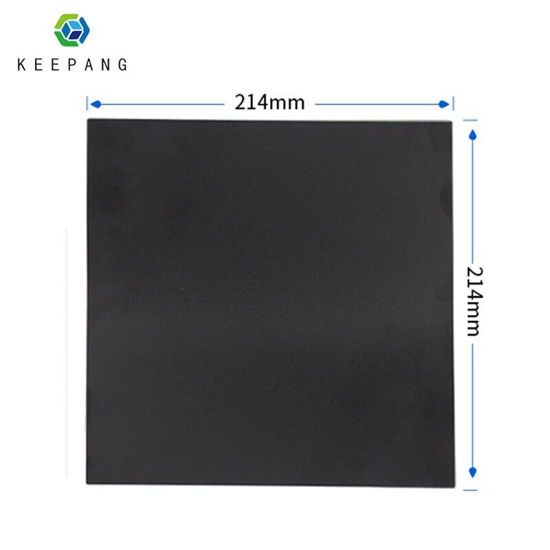 3D Printer Heat Hot Bed Sticker Coordinate Printed 214*214mm Hot Bed Surface Sticker Black for 3D Printer Platform Film шорты accelerate printed hot
