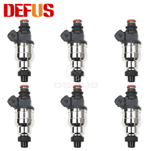 6pcs Fuel Injector 440cc for Nissan RB20 RB24 RB25 RB26 RB30 R31 R32 Car Styling Engine Nozzle Injection Valve M02H440