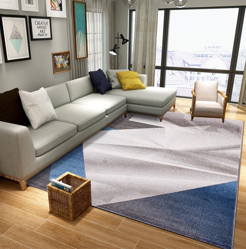 Nordic Carpets For Living Room Home Carpet Bedroom Sofa Coffee Table Rug Study Room Floor Mat Woven Polypropylene Decorative Rug - 4