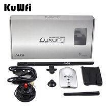 Alfa Wifi USB Adaptador 150 Mbps RT3070L Chipset de Alta Potencia de 2 + 8dBi Antena Wifi Tarjeta de Red de Escritorio de Interior Receptor Wifi
