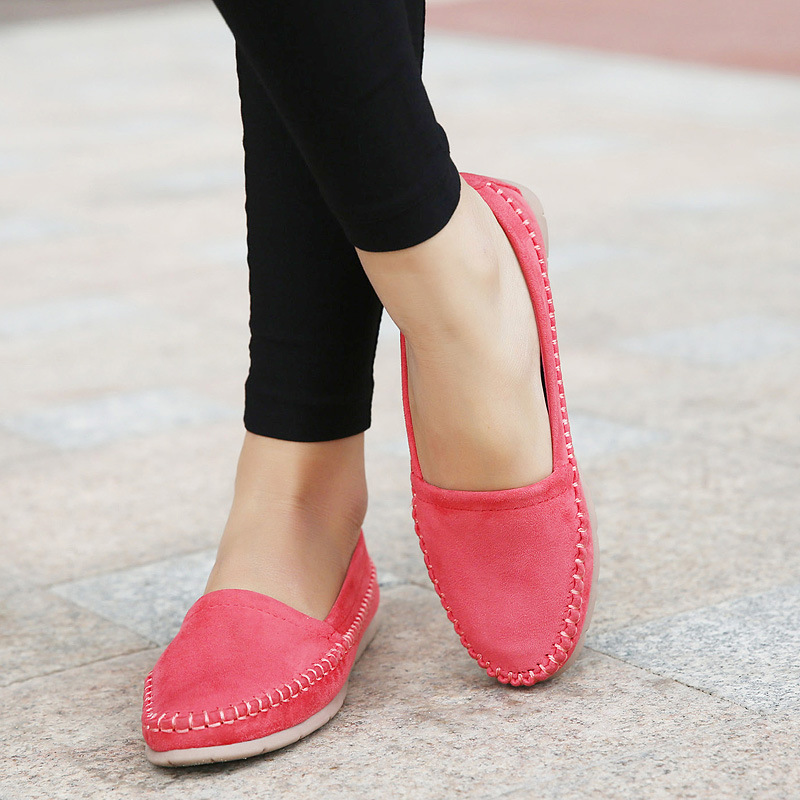 6a5c4601be0 SUPER TRADE Soft Women Flats New Sweet Shoes Students Trade Large ...