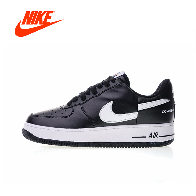 цена Original New Arrival Authentic Nike Air Force 1 Low X Supreme X Comme Des Garcons Men's Skateboarding Shoes Sneakers AR7623-001