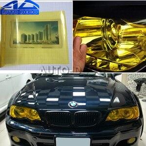 Image 5 - 30*200 см Глянцевый светильник, пленочный лист, 13 цветов, автомобильный головной светильник задняя фара туман светильник, противотуманная виниловая наклейка