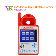 New CN900 MINI Key Programmer Copy 4C 4D 46 48 and 72G Chip Car Locksmith Tool Update Online Free Shipping
