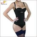 Mujeres Tummy Control de Underbust Adelgaza Fajas Body Shaper Ropa Interior de Látex Entrenador Cintura Cincher Firm Body Trainer