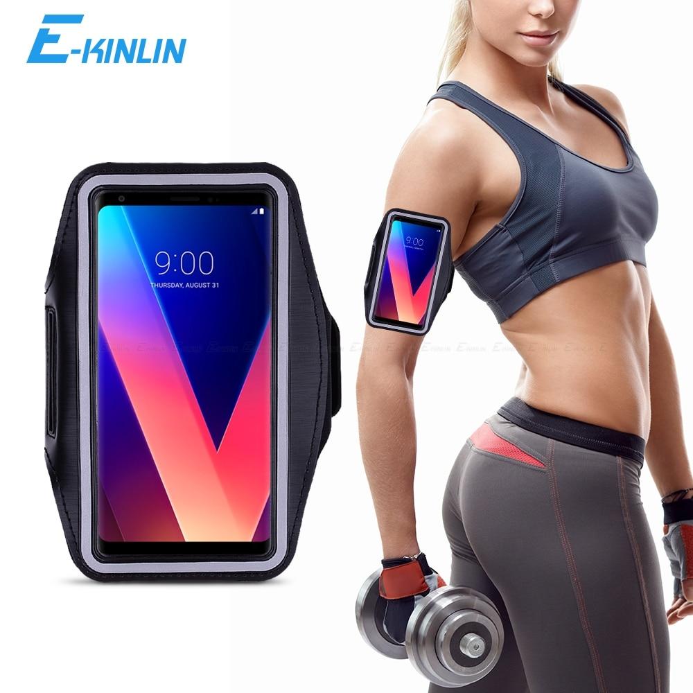 Sport Gym Running Workout Case Pouch Arm Band For LG V20 V10 V30 V35 V30S Plus V40 ThinQ T