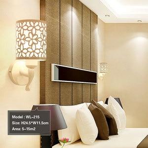 Image 4 - Lámparas de pared para interior y dormitorio, apliques de pared de estilo Simple, lámpara de cama, Luminaria creativa para escalera, sala de estar