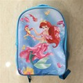 15 pulgadas mochila sirena Ariel Princesa pony animal doble capa Sofia MLP bolsas caja de lápiz de la Escuela de anime pequeño caballo de las mujeres