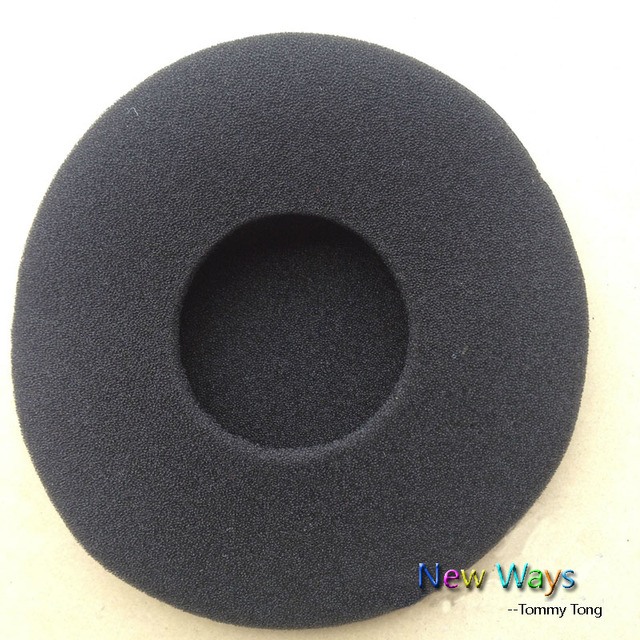 1af8362131e37c 8cm Large sponge Foam Earbud earphone ear buds Headphone Ear pads cushion  Replacement Sponge Covers Tips